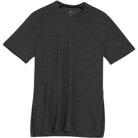 Icebreaker Anatomica T-shirt Col ras-du-cou Homme, jet hthr/black